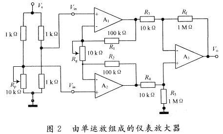 仪表放大器电路设计图片