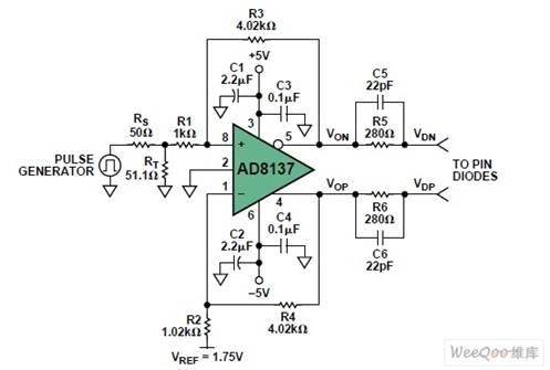 需要确定差分放大器电路的输入阻抗